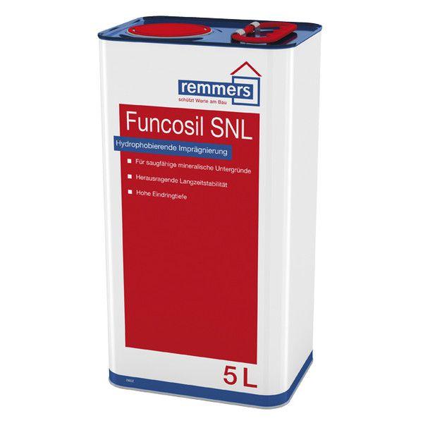 Funcosil SNL - Farblose, hydrophobierende Imprägnierung / Sandstein