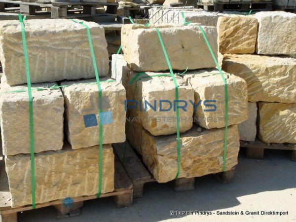 Sandstein Mauersteine 25x25x50 cm