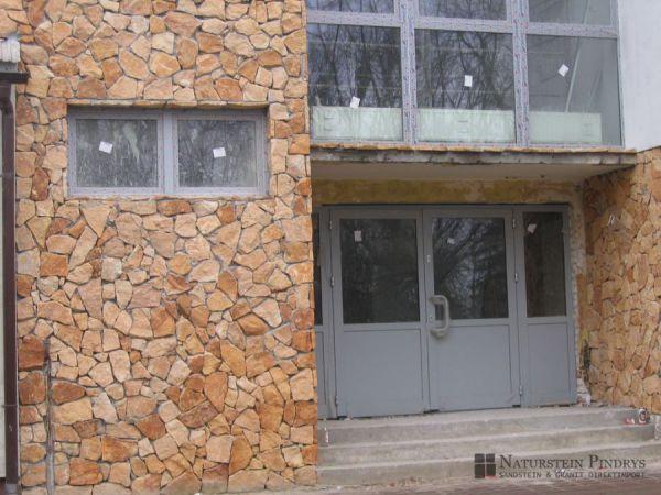 Sandstein Verblender, Bruchsteinverkleidung, Mauerverblender, Steinverblender