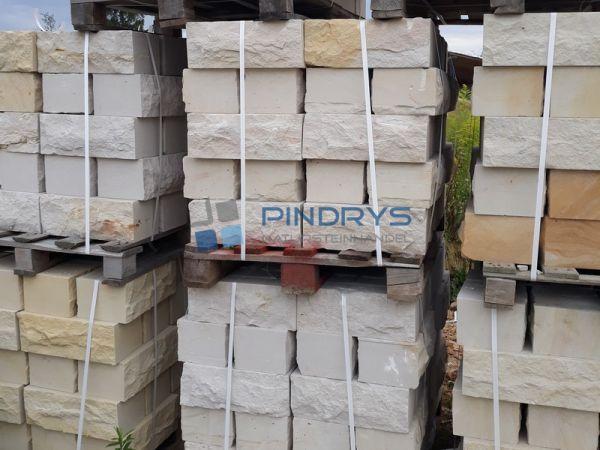 Sandstein Mauersteine 15x20x40 cm